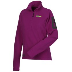 View a larger, more detailed picture of the Eddie Bauer Microfleece 1 4 Zip Pullover - Ladies 