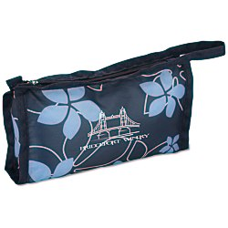 View a larger, more detailed picture of the Pedicure Spa Kit - Navy Floral