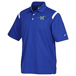 View a larger, more detailed picture of the Nike Performance Shoulder Stripe Polo - Men s