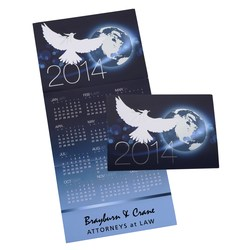 View a larger, more detailed picture of the White Dove Calendar Greeting Card