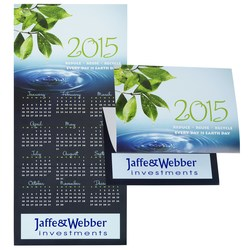 View a larger, more detailed picture of the Celebrate Green Calendar Greeting Card
