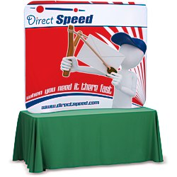 View a larger, more detailed picture of the Tension Fabric Tabletop Display - 5 