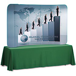 View a larger, more detailed picture of the Tension Fabric Tabletop Display - 7