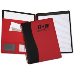 View a larger, more detailed picture of the Spiralz Letter Desk Folder - Closeout
