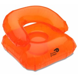 View a larger, more detailed picture of the Beach Bum Inflatable Head Chair Pillow - Closeout