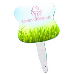 View a larger, more detailed picture of the Grow Stick Mini Hand Fan - Hour Glass