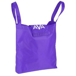 View a larger, more detailed picture of the Clip On Shopping Tote - Closeout
