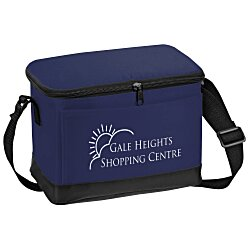 View a larger, more detailed picture of the 6-Pack Insulated Cooler Bag - 24 hr
