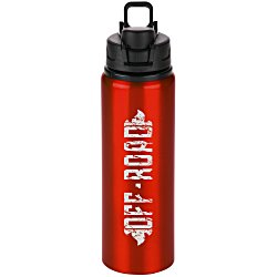 View a larger, more detailed picture of the h2go Surge Aluminum Sport Bottle - 28 oz - 24 hr