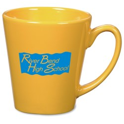 View a larger, more detailed picture of the Short Latte Mug - 12 oz - Colors - 24 hr