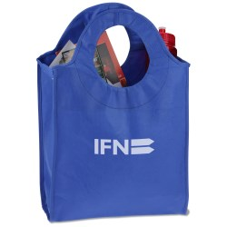 View a larger, more detailed picture of the Polypropylene Circle Tote - Closeout