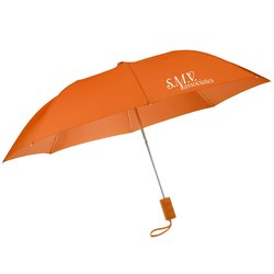 View a larger, more detailed picture of the 42 Folding Umbrella with Auto Open - Solid - 24 hr
