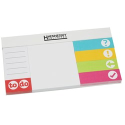 View a larger, more detailed picture of the Easi-Notes Organizer Sticky Set - Closeout