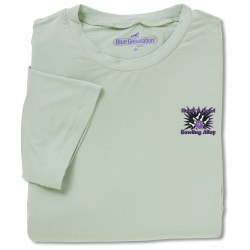 View a larger, more detailed picture of the Blue Generation Bamboo Rayon T-Shirt - Men s-Closeout