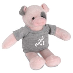 View a larger, more detailed picture of the Mascot Beanie Animal - Pig - 24 hr