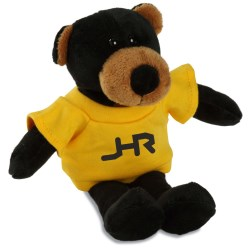 View a larger, more detailed picture of the Mascot Beanie Animal - Black Bear - 24 hr