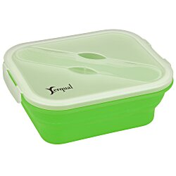View a larger, more detailed picture of the Gourmet Collapsible Lunch Box