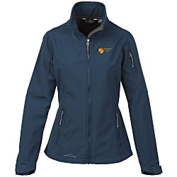View a larger, more detailed picture of the Eddie Bauer Waterproof Soft Shell Jacket - Ladies