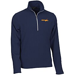 View a larger, more detailed picture of the Port Authority Microfleece 1 2 Zip Pullover - Men s