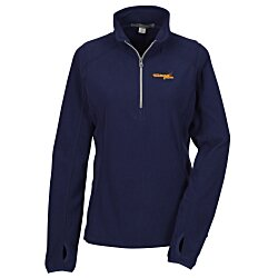 View a larger, more detailed picture of the Port Authority Microfleece 1 2 Zip Pullover - Ladies
