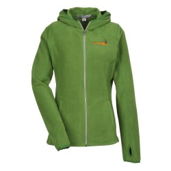 View a larger, more detailed picture of the Port Authority Microfleece Full Zip Hoodie - Ladies