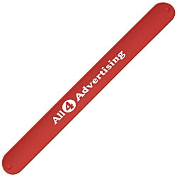 View a larger, more detailed picture of the Silicone Slap Bracelet