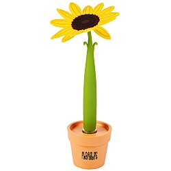 View a larger, more detailed picture of the Potted Pen - Sunflower