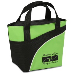View a larger, more detailed picture of the Jet-Setter Lunch Cooler Tote - Closeout