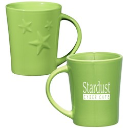 View a larger, more detailed picture of the Twinkle Ceramic Mug - 12 oz - Closeout