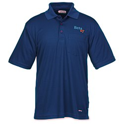 View a larger, more detailed picture of the Pico Performance Pocket Polo - Men s