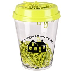 View a larger, more detailed picture of the Paper Clip Tumbler - Closeout