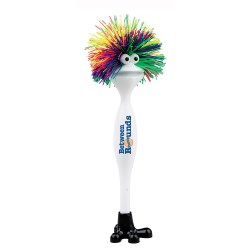 View a larger, more detailed picture of the Jr Funky Rainbow Hair Pen - Closeout