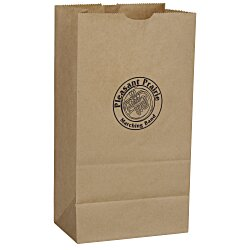 View a larger, more detailed picture of the Paper Lunch Sack - Brown