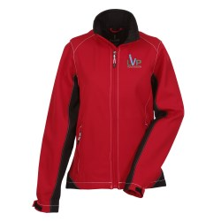View a larger, more detailed picture of the Iberico Soft Shell Jacket - Ladies