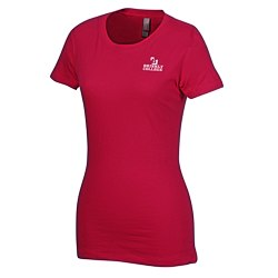 View a larger, more detailed picture of the Next Level 3 7 oz Perfect Tee - Ladies