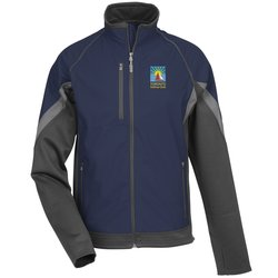 View a larger, more detailed picture of the Jozani Hybrid Soft Shell Jacket - Men s