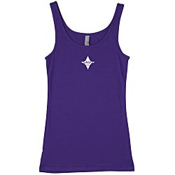 View a larger, more detailed picture of the Next Level 4 3 oz Jersey Tank - Ladies