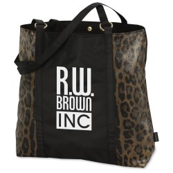 View a larger, more detailed picture of the Instincts Fashion Tote - Cheetah