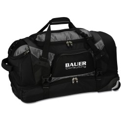 View a larger, more detailed picture of the Vertex Tech Drop Bottom Wheeled Duffel