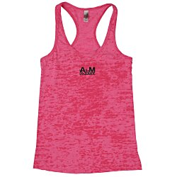 View a larger, more detailed picture of the Next Level Burnout Razor Tank - Ladies