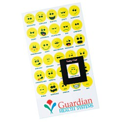 View a larger, more detailed picture of the Bic Mood Magnet - Smiley Faces - 24 hr
