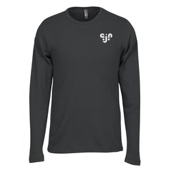 View a larger, more detailed picture of the Next Level Soft LS Thermal Tee - Men s - Screen