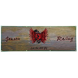 View a larger, more detailed picture of the Value Outdoor Banner - 2 x 6 - 24 hr