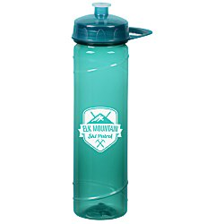 View a larger, more detailed picture of the PolySure Cyclone Sport Bottle w Handle -24 oz - Translucent
