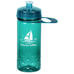 View a larger, more detailed picture of the PolySure Inspire Sport Bottle w Handle -16 oz - Translucent