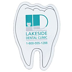 View a larger, more detailed picture of the Flat Flexible Magnet - Tooth - 24 hr