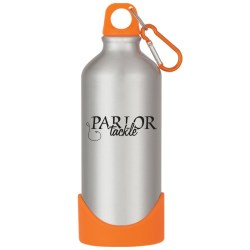View a larger, more detailed picture of the Aluminum Bike Bottle w Plastic Base - 20 oz - Closeout
