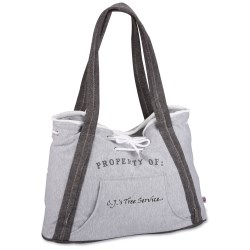 View a larger, more detailed picture of the Our Team Sweatshirt Sport Tote - Closeout