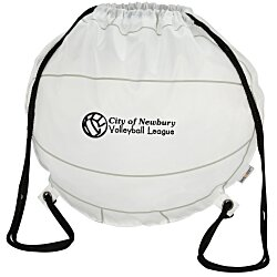 View a larger, more detailed picture of the Game Time Volleyball Drawstring Backpack