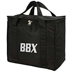 View a larger, more detailed picture of the Zip Up Picnic Shopping Tote